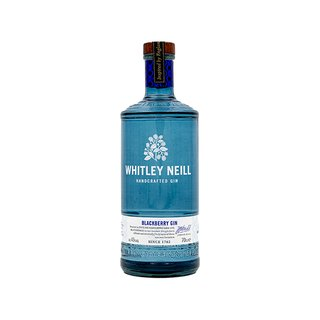 Whitley Neill Blackberry Handcrafted Dry Gin 43% vol. 0,7l