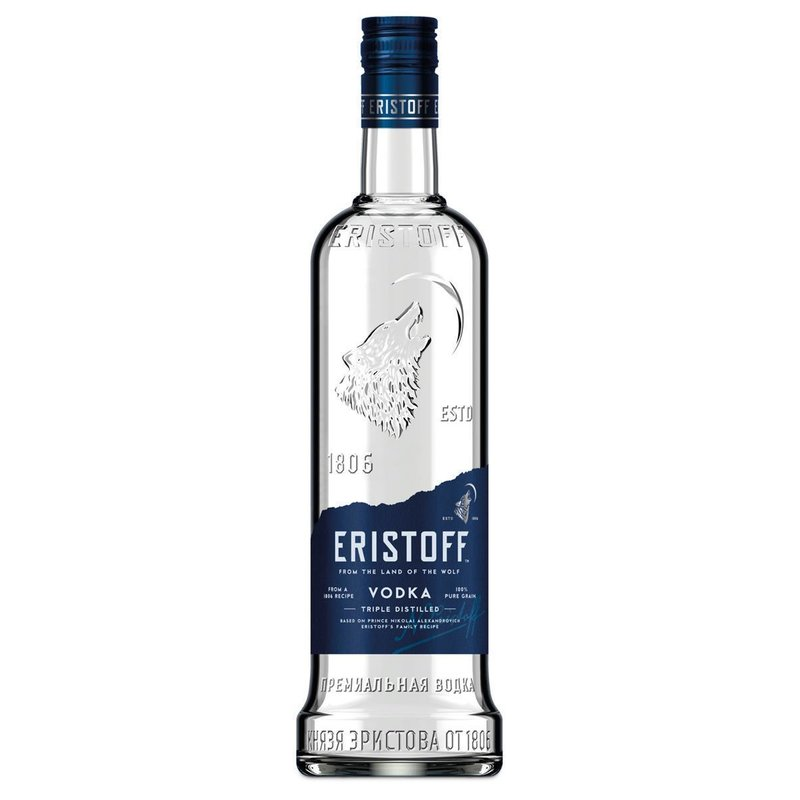 Eristoff Triple Distilled Vodka 37,5% vol.