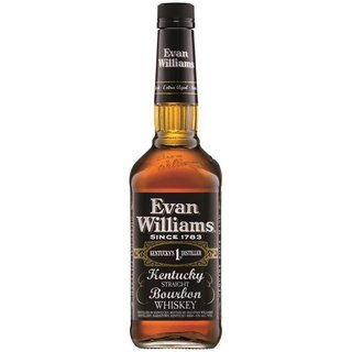 Evan Williams Black Kentucky Bourbon Whiskey 43% vol.