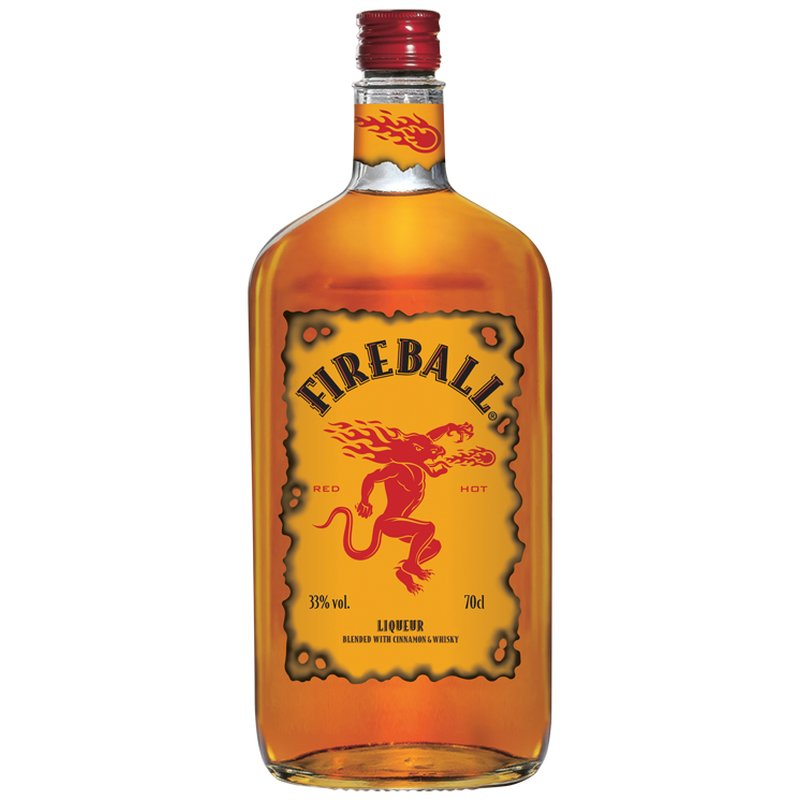 Fireball Whisky-Zimt-Likör 33% vol. 0,7 l