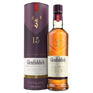 Glenfiddich 15 Jahre Solera Reserve Single Malt Scotch...