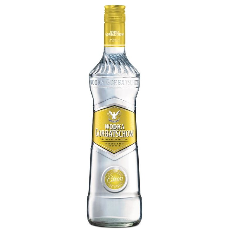 Gorbatschow Citron Vodka 37,5% vol. 0,7l