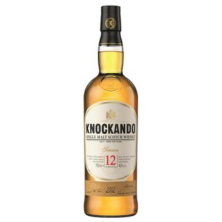 Knockando 12 Jahre Speyside Single Malt Whisky 43% vol. 0,7l