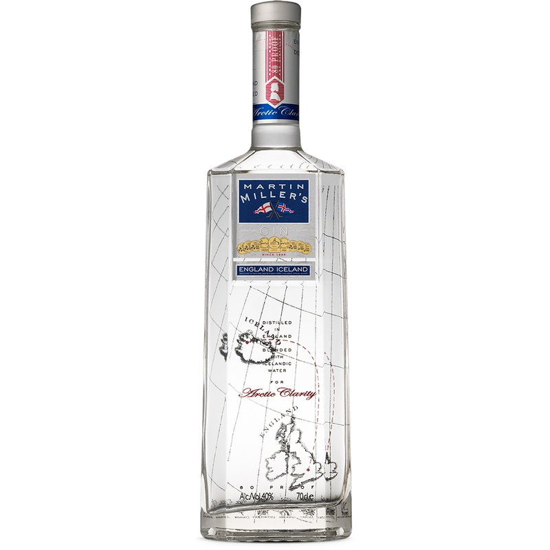 Martin Millers London Dry Gin 40% vol. 0,7l