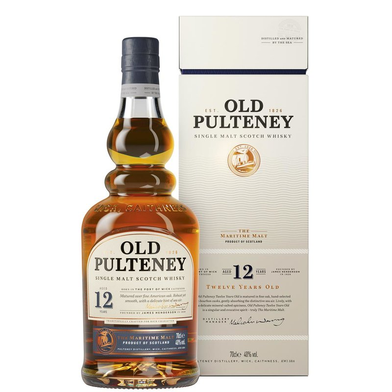 Old Pulteney 12 Jahre Highland Single Malt Whisky 40% vol. 0,7l