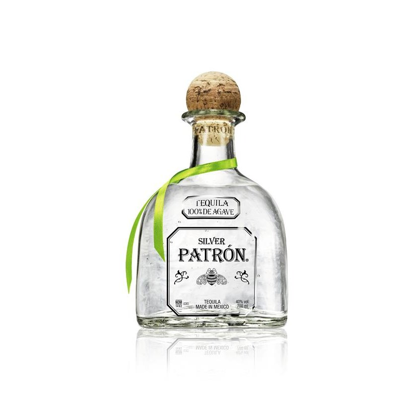 Patron Silver Tequila 100% Agave 40% vol. 0,7 l