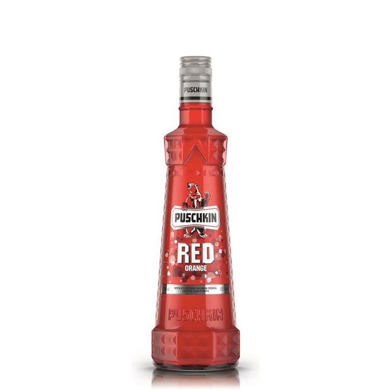 Puschkin Red Orange Vodka mit Blutorange 17,5% vol.