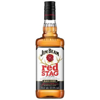 Jim Beam Red Stag Black Cherry Whiskylikör 40% vol. 0,7l