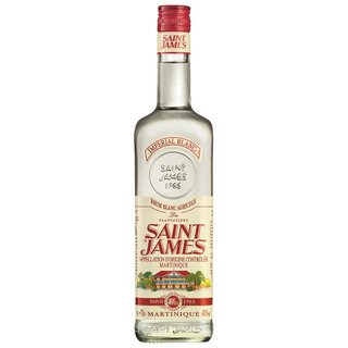 Saint James Imperial Blanc Rum 40% vol. 0,7l