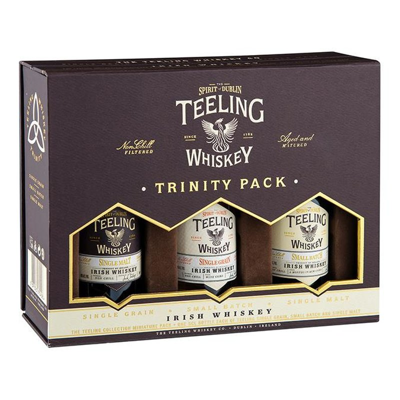 Teeling Trinity Pack Irish Whiskey 46% vol. 0,15l