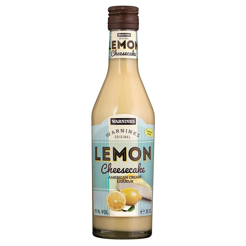 Warninks Lemon Cheesecake Cremelikör 15% vol. 0,35l