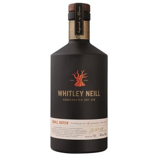Whitley Neill Gin Handcrafted Dry Gin 43% vol. 0,7l