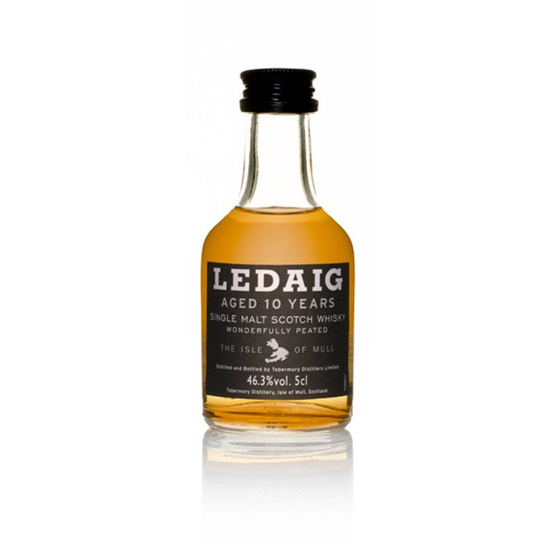 Ledaig 10 Jahre Island Single Malt Scotch Whisky 12 x 5 cl 46,3 % vol. 0,6l