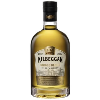 Kilbeggan Single Grain Blended Irish Whiskey 40% vol. 0,7l