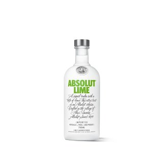 Absolut Lime Vodka mit Limette 40% vol.
