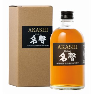 Akashi Meisei Blended Whisky 40% vol. 0,5l