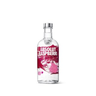Absolut Raspberry Vodka mit Himbeeren 40% vol.