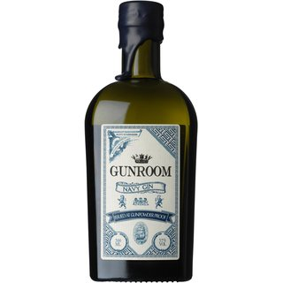 Gunroom Navy London Dry Gin Gunpowder Proof 57% vol. 0,5l