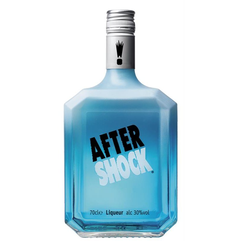 After Shock Blue Citruslikör 30% vol. 0,7l