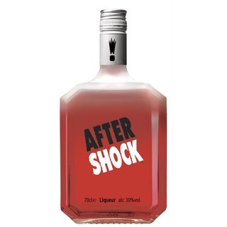 After Shock Red Zimtlikör 30% vol. 0,7l