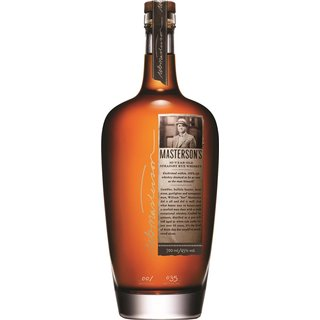 Mastersons 10 Jahre Straight Rye Whiskey 45% vol. 0,7l