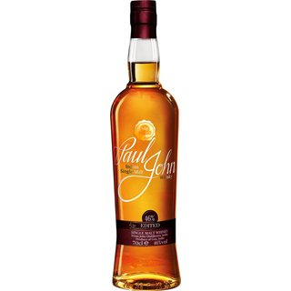 Paul John Edited Single Malt Whisky aus Indien 46% vol. 0,7l