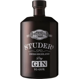 Studer Highland Swiss Dry Gin 42,4% vol. 0,7l