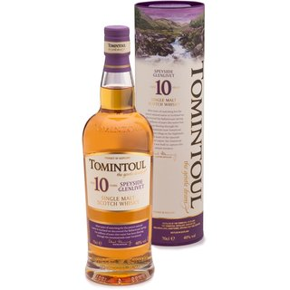 Tomintoul 10 Jahre Speyside Single Malt Whisky 40% vol. 0,7l