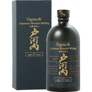 Togouchi 15 Jahre Japanese Blended Whisky 43,8% vol. 0,7l