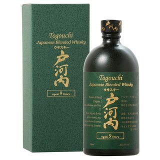 Togouchi 9 Jahre Japanese Blended Whisky 40% vol. 0,7l
