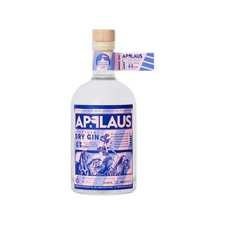 Applaus Stuttgart Dry Gin 43% vol. 0,5l