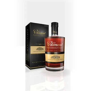 Clement Rhum 10 Jahre Rum aus Martinique 42% vol. 0,7l