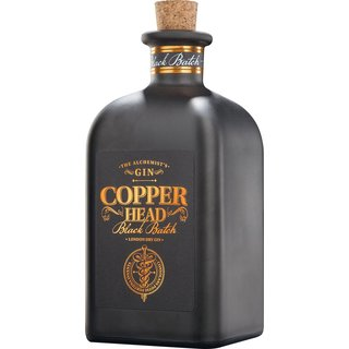 Copperhead Black Batch London Dry Gin 42% vol. 0,5l