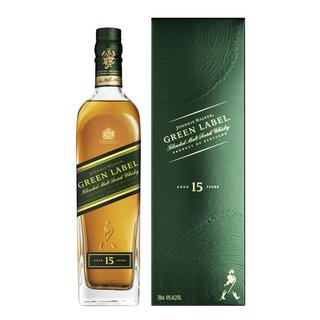 Johnnie Walker Green Label 15 Jahre Blended Scotch Whisky...