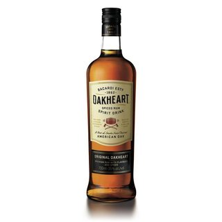 Bacardi Oakheart Smooth & Spiced 35% vol.