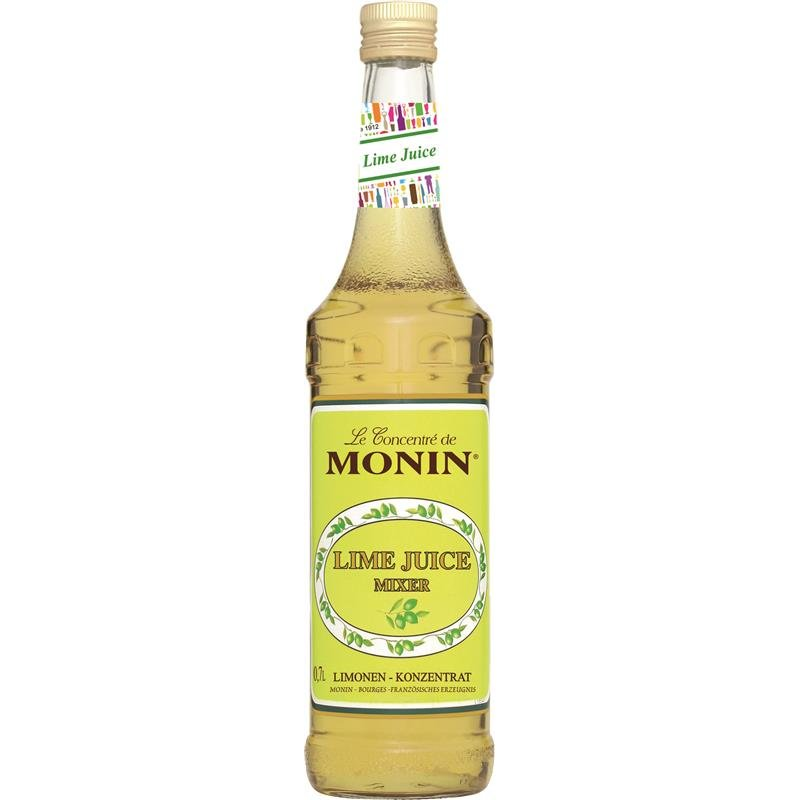 Monin Lime Juice Cordial Mixed 0,7l