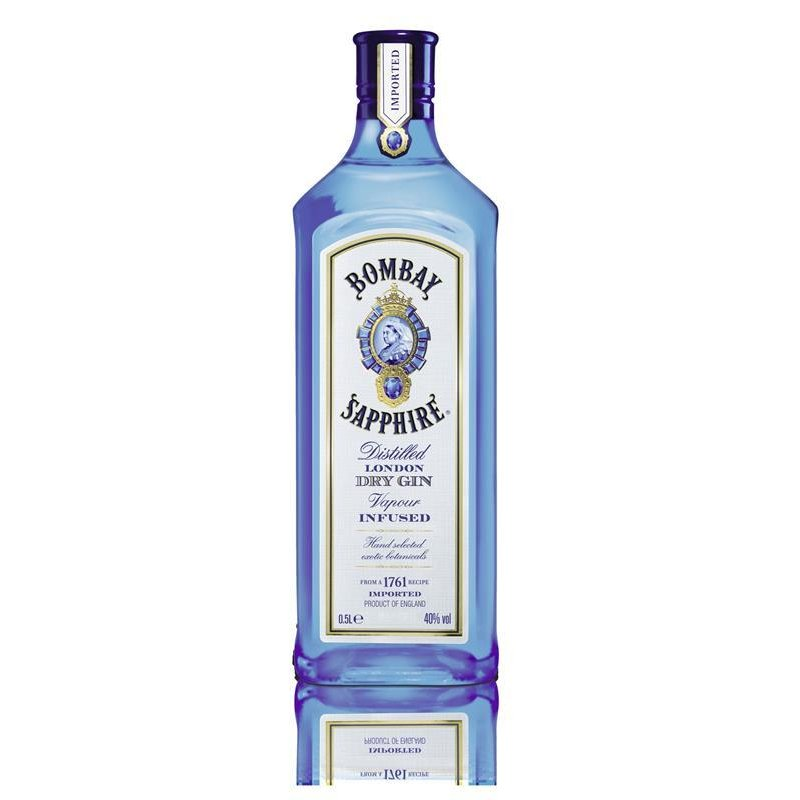 Bombay Sapphire London Distilled Dry Gin 40% vol. 0,5l