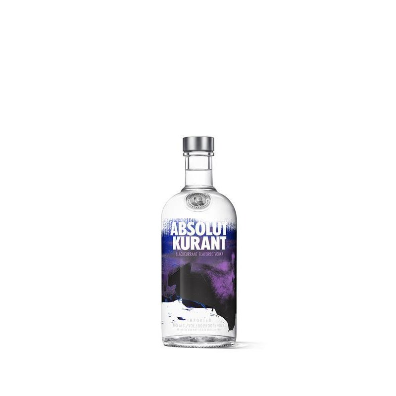 Absolut Kurant Vodka mit Johannisbeeren 40% vol. 0,7l