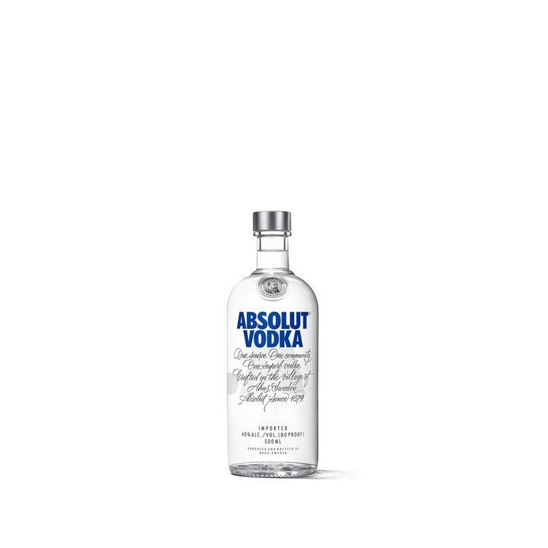 Absolut Vodka 40% vol. 0,5l