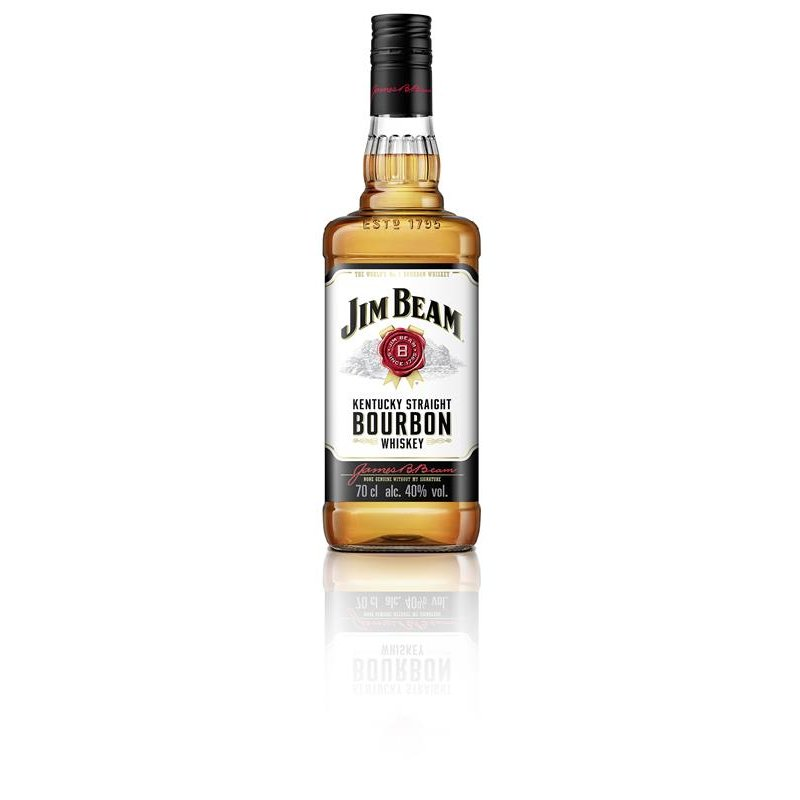 Jim Beam Kentucky Straight Bourbon Whiskey 40% vol. 0,7l