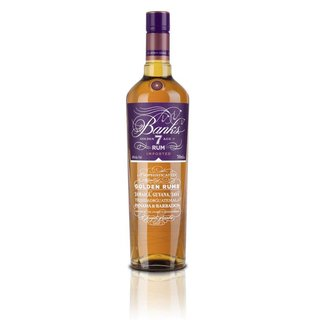 Banks 7 Island Golden Blended Rum 43% vol. 0,7l