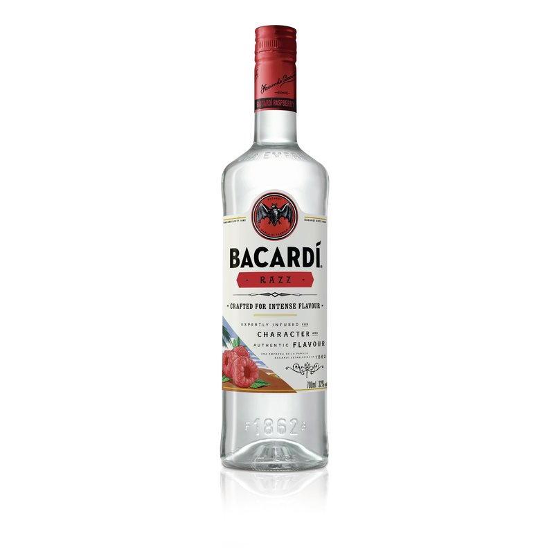 Bacardi Razz Raspberry flavoured 32% vol.