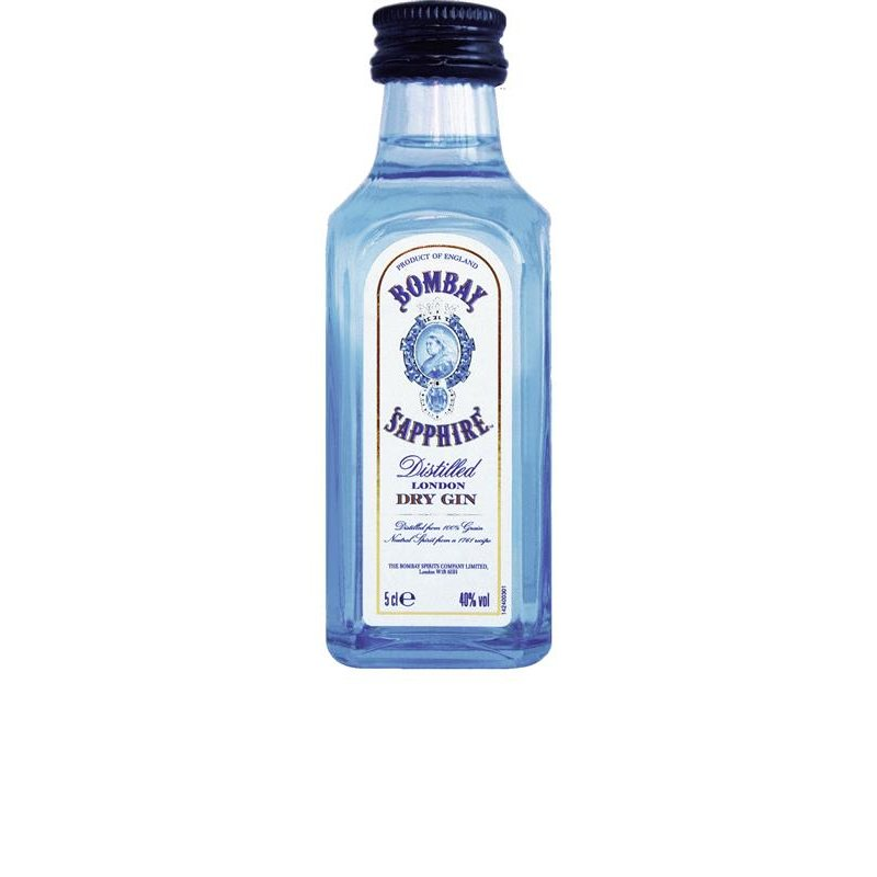 Bombay Sapphire London Distilled Dry Gin 40% vol. 12 x 5 cl 0,6 l