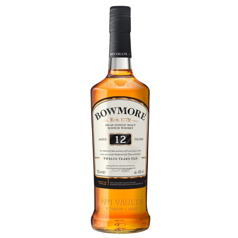 Bowmore 12 Jahre Islay Single Malt Whisky 40% vol. 0,7l