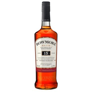 Bowmore 15 Jahre Islay Single Malt Whisky 43% vol. 0,7l