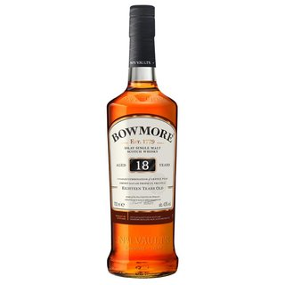 Bowmore 18 Jahre Islay Single Malt Whisky 43% vol. 0,7l