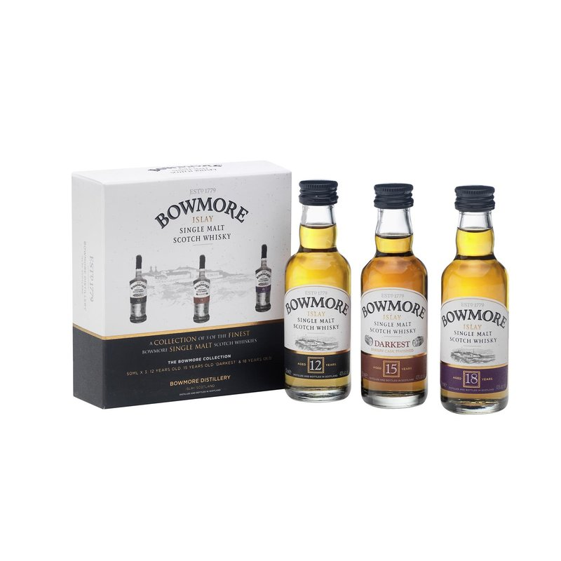 Bowmore Distillers Collection Single Malt Whisky 3 x 5 cl 42% vol. 0,15l