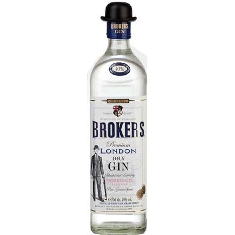 Brokers London Dry Gin 40% vol. 0,7 l