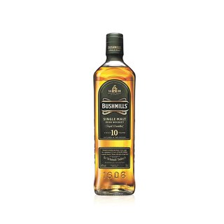 Bushmills 10 Jahre Single Malt  Irish Whiskey 40% vol. 0,7l