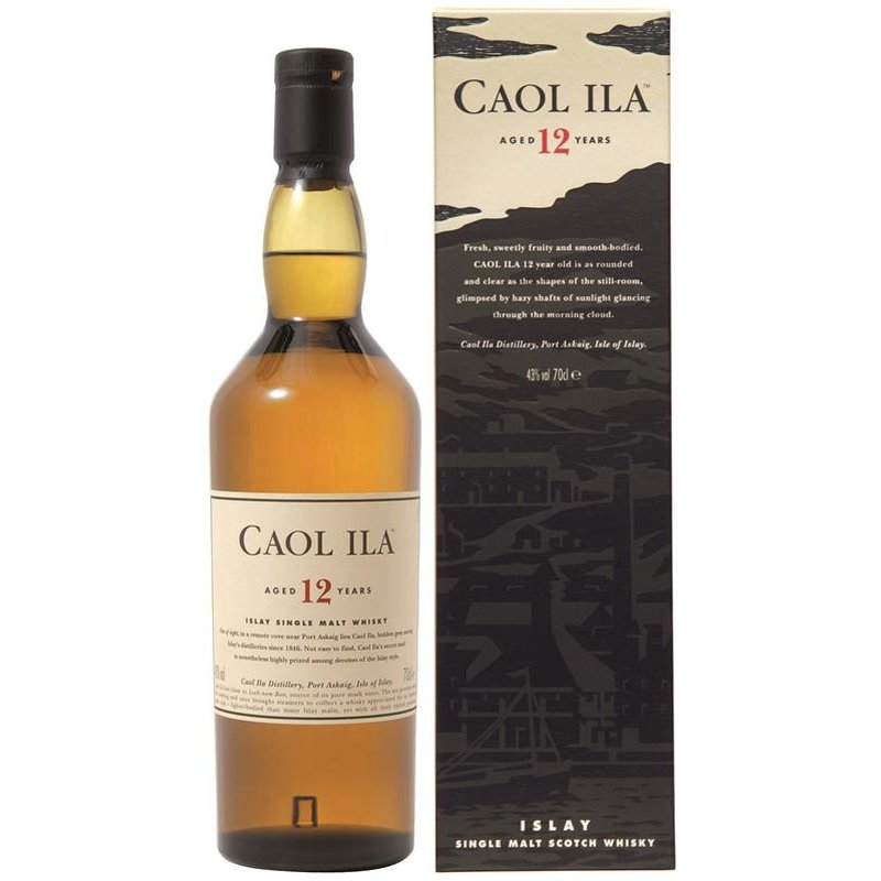 Caol Ila 12 Jahre Islay Scotch Single Malt Whisky 43% vol. 0,7l